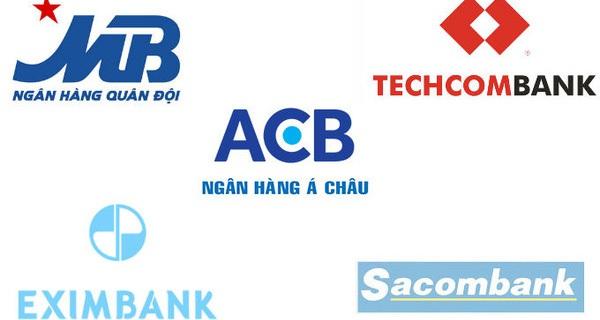 Top 5 ngân hàng cổ phần ngày ấy và bây giờ