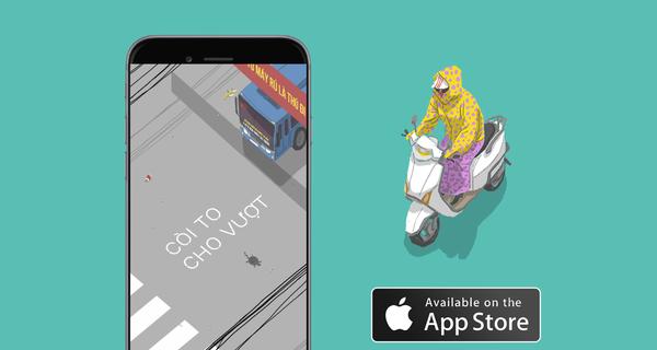 """Chơi game Việt cực hot này, bạn sẽ hiểu cảm giác thế nào là """"ninja xe tay ga"""" đi mây về gió trên đường phố Việt Nam"""