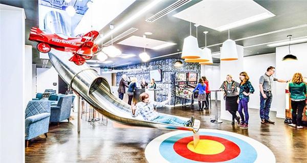 Thiết kế văn phòng giúp tăng năng suất làm việc