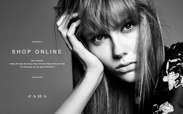 Zara Việt Nam chuẩn bị có shop online