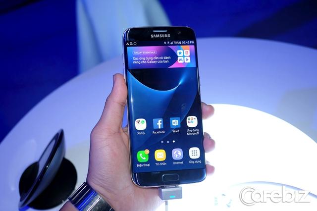 Galaxy S7 edge màu Xanh Coral mới có hàng từ ngày 12/11.