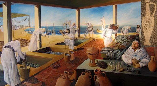 Thuyền buôn La Mã đã mang nước mắm tới các nước Á Đông.