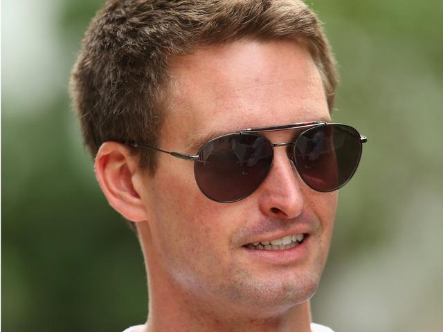 Evan Spiegel, nhà sáng lập và CEO của Snapchat.