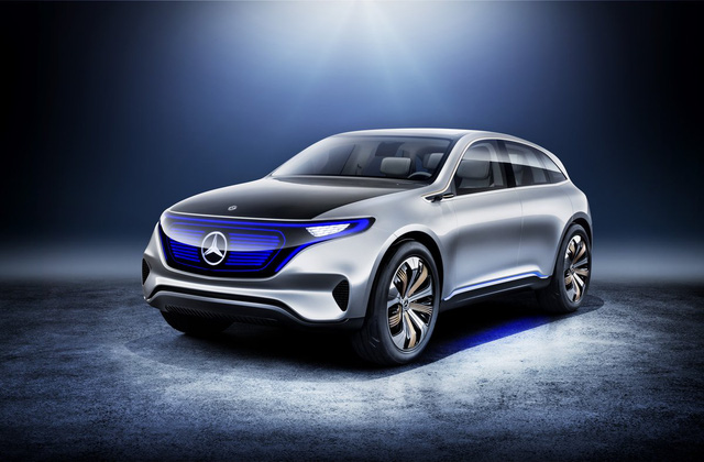 Mercedes EQ là xe dòng SUV chạy bằng điện ước tính có thể đi được quãng đường lên đến gần 500 km với mỗi lần sạc.