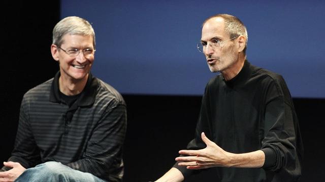 Tim Cook chưa từng muốn thay thế vai trò của Steve Jobs ở Apple.