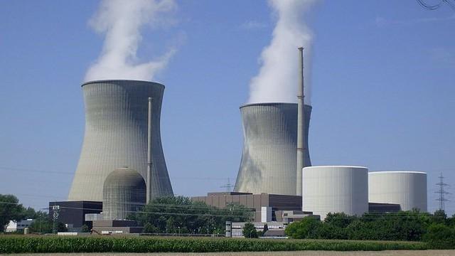 Một nhà máy điện hạt nhân ở Đức.