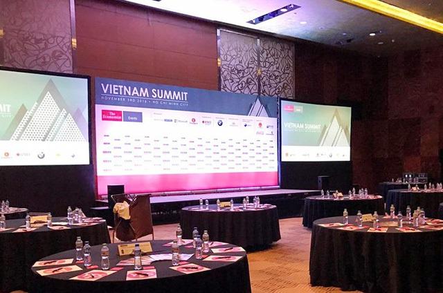 Hội nghị Kinh tế đối ngoại Việt Nam 2016 (Vietnam Summit 2016) sẽ khai mạc trong ngày 3/11 tại TP HCM.