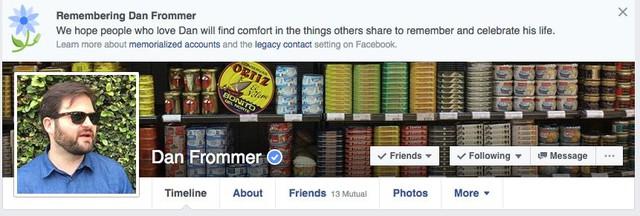Một anh chàng bất ngờ bị Facebook báo tử