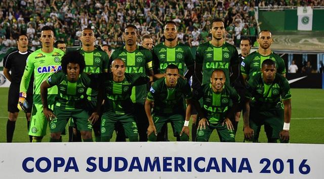 Vào chung kết Copa Sudamericana 2016 là một kỳ tích lịch sử của đội bóng nhỏ bé Chapecoense.