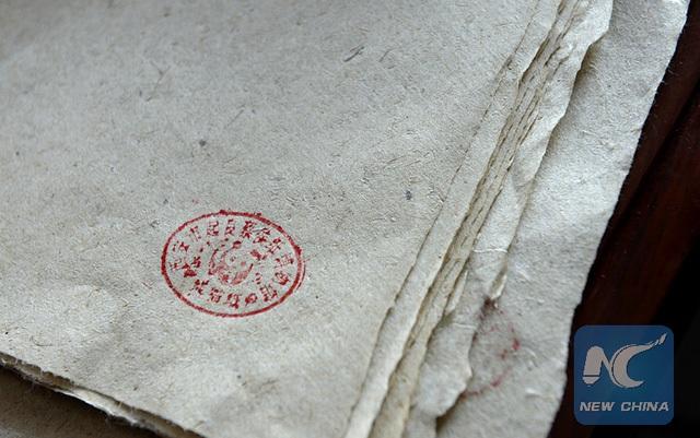 Ông Lưu đã mất 2 năm cùng trên dưới mười lần thất bại trước khi cho ra sản phẩm giấy thân thiện với môi trường, làm theo phương pháp thủ công ra đời từ 2.000 năm trước.