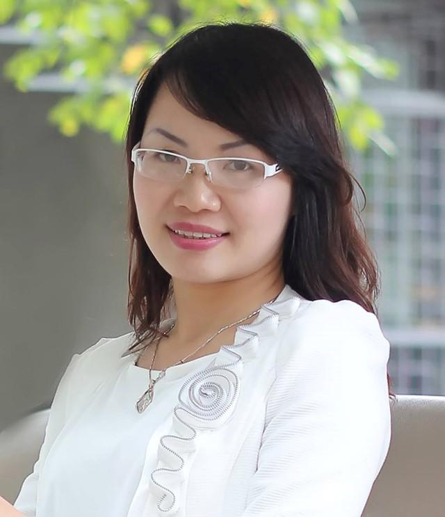 ThS Lê Thị Lan Anh, Viện trưởng Viện Phát triển Giáo dục & Trí tuệ Việt