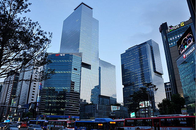 Samsung Town tại Seoul.