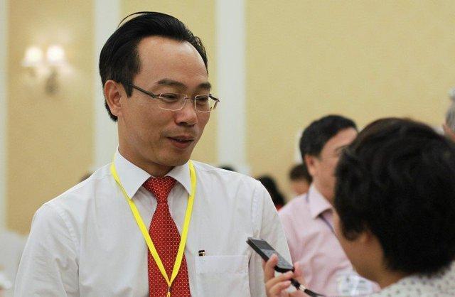 Ông Hoàng Minh Sơn, Hiệu trưởng Trường ĐH Bách khoa HN. Ảnh: Lê Văn.