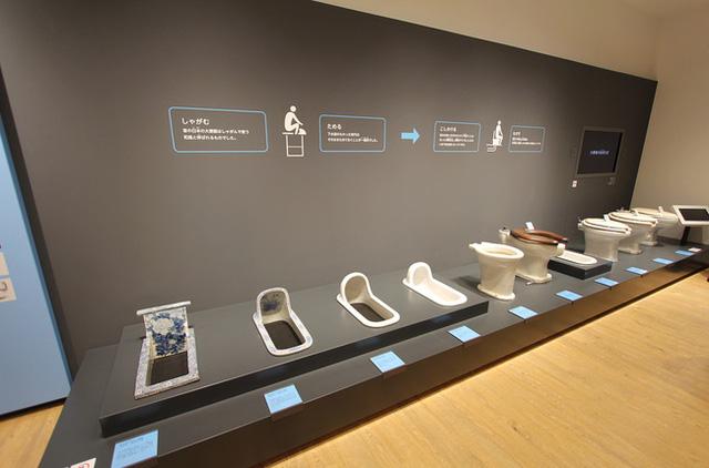 Bảo tàng các loại bệ xí, bồn cầu tại Nhật Bản