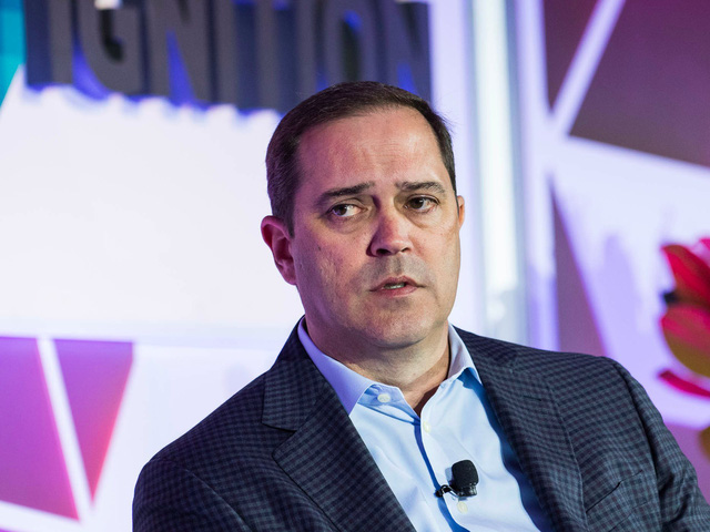 CEO Cisco, Chuck Robbins.