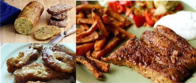 Seitan là một loại thực phẩm thay thế thịt, rất phổ biến trong thế giới thực phẩm của những người ăn chay.