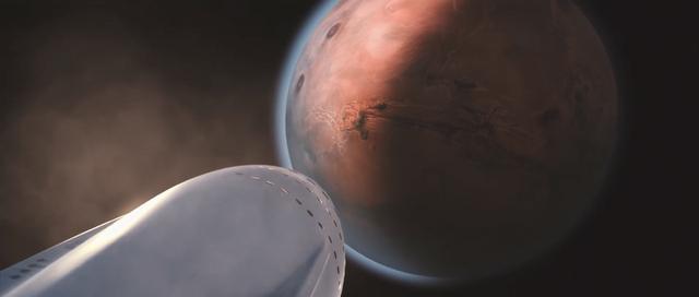 Khi đến sao Hỏa, con tàu sẵn sàng chuẩn bị cho va chạm.