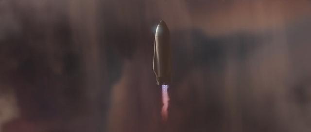 Và sử dụng tên lửa đẩy ngược.