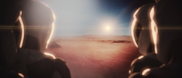 Đưa hành khách chính thức đặt chân lên lãnh thổ sao Hỏa.