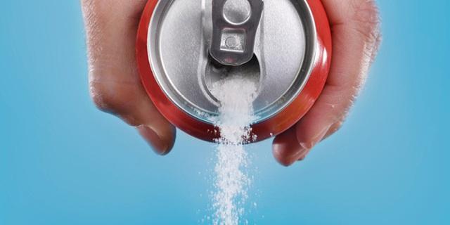 Những lon nước ngọt chứa rất nhiều đường