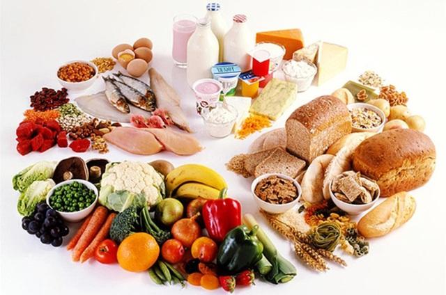 Chế độ ăn uống cân đối, hợp lý là một trong bốn chìa khóa vàng của sức khỏe. (Ảnh minh họa).