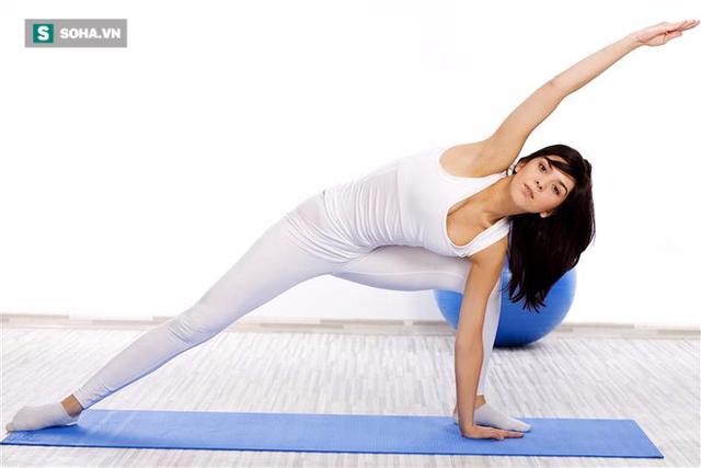 Đừng quên tập luyện để giảm mỡ dư thừa trên cơ thể.