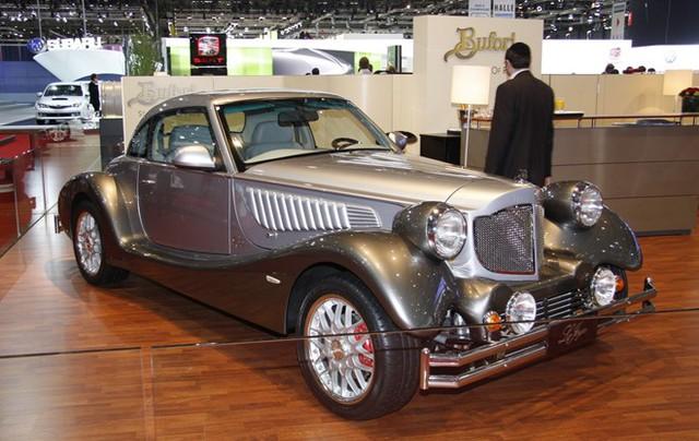 Không chỉ sản xuất xe hơi giá rẻ, Malaysia còn chế tạo được xe siêu sang cho giới triệu phú. Ảnh: Bufori.