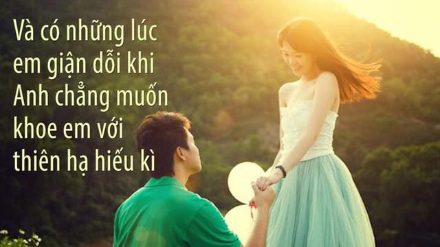 Hiện nay, các bạn trẻ  có nhiều điều kiện để tự quyết định tình yêu hôn nhân của mình. Chàng trai muốn yêu cô gái nào sẽ cưa cẩm cô gái đó bằng mọi cách.