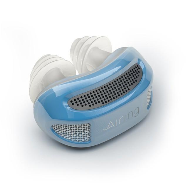 Airing có chức năng giống như các máy thở phức tạp nhưng thu nhỏ lại và được thiết kế không dây, hứa hẹn là giải pháp hữu hiệu cho những người hay ngáy ngủ.