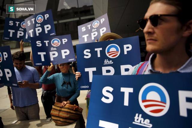 Liệu Trump có đặt dấu chấm hết cho TPP? Ảnh: AP