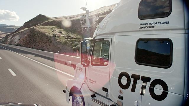 Xe tải tự lái của Otto, công ty đã được Uber thâu tóm