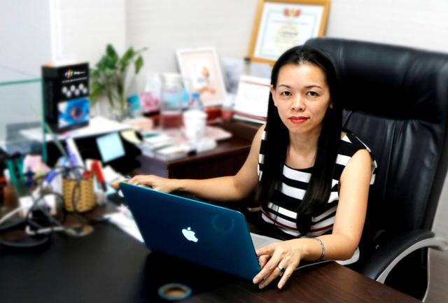 Tổng Giám đốc FPT Shop, bà Nguyễn Bạch Điệp