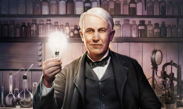Thomas Edison. (Ảnh qua mdzol.com)