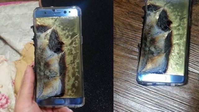 Những hình ảnh đầu tiên của cuộc khủng hoảng cháy nổ với Galaxy Note 7.