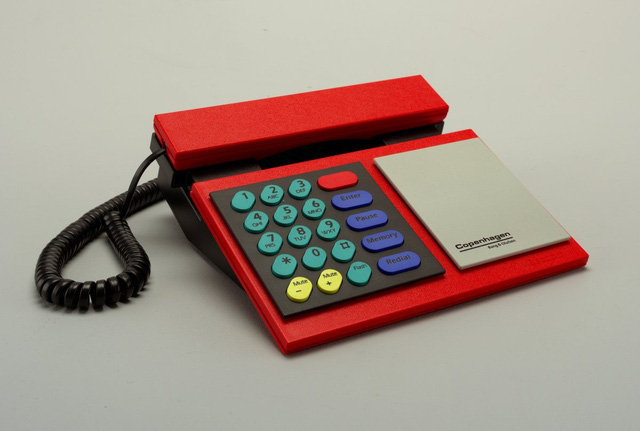 Điện thoại Beocom Copenhagen, thiết kế bởi Lindinger-Loewy.