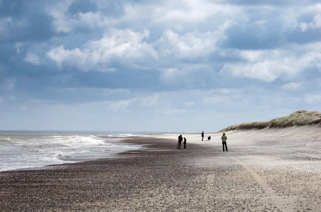 Bãi biển Slette tại Đan Mạch.