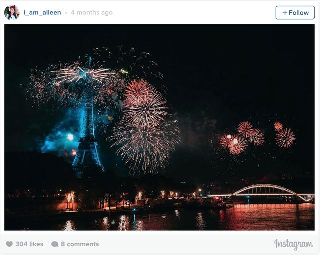 Chào mừng ngày Bastille ở Paris, Pháp.