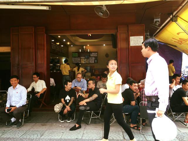 Cafe Vy, Lê Thánh Tôn, quận 1, TP HCM. Ảnh: Fanpage Cafe Vy