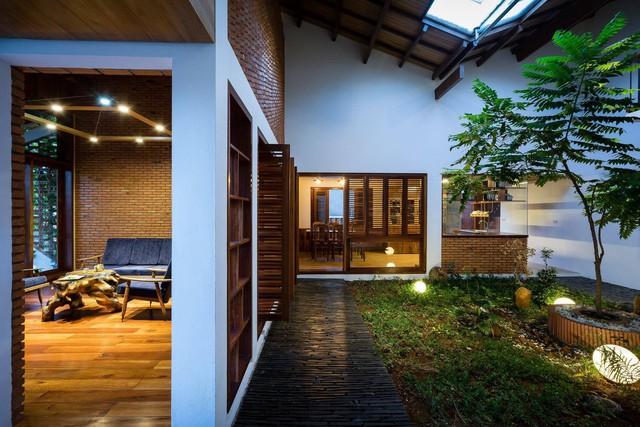 Ngôi nhà mái ngói cấp 4 đẹp như resort khiến nhiều người ước mơ ở Lâm Đồng - Ảnh 4.