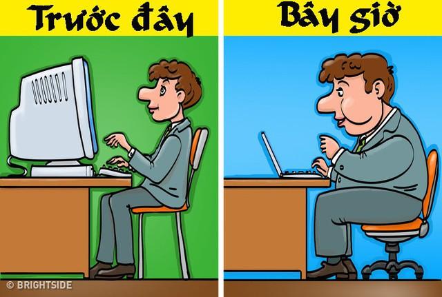 Bộ tranh ngày ấy - bây giờ chứng tỏ công nghệ đã làm cuộc sống của chúng ta thay đổi chóng mặt - Ảnh 1.
