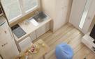 """Thiết kế nội thất """"chất lừ"""" của những ngôi nhà nhỏ siêu tiện lợi, tiện nghi"""