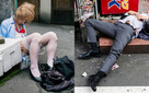 Những gã say xỉn từ ga tàu cho đến đường phố: Nét văn hóa tiệc tùng của giới công sở Nhật Bản