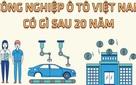 Công nghiệp ôtô Việt Nam có gì sau 20 năm