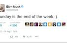 """Đọc những dòng tweet ngày hôm qua của Elon Musk, chúng ta mới hiểu ông """"dị"""" đến mức nào"""