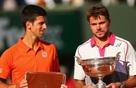 Hãy nhìn vào áo đấu Novak Djokovic và Stan Wawrinka để thấy người Nhật đã đánh bại đối thủ Mỹ thế nào