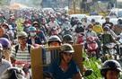 Người Sài Gòn sử dụng smartphone để nhận biết kẹt xe