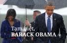 Tạm biệt, Barack Obama...
