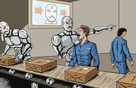 Công ty Trung Quốc thành công lớn khi thay 90% lao động bằng robot, viễn cảnh máy móc cướp việc con người đã xảy ra?