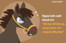 """Hiệu ứng """"con ngựa lười"""" và bài học nhớ đời: Kẻ thích an nhàn sẽ nhận kết cục thảm hại"""