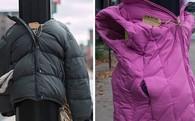 """""""Cột điện mặc áo"""" ở Canada, món quà dành tặng người vô gia cư mùa giá rét"""